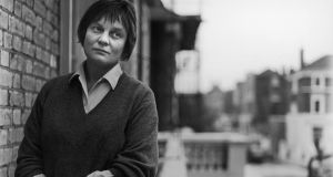 Portrait of  Iris Murdoch in  London, 1966. Photograph: Horst Tappe/Hulton Archive/Getty Images