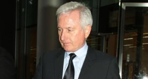 Developer Paddy McKillen: he  is challenging the allegedly short timescale he got to respond to the role of Anglo Irish Bank assessor in determining compensation for Anglo shareholders. Photograph: Yui Mok/PA Wire