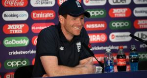 "Eoin Morgan: ""I don't think I could do anything, or should so anything, to try influence the fans to change their mind."" Photograph: Gareth Copley/Getty Images"