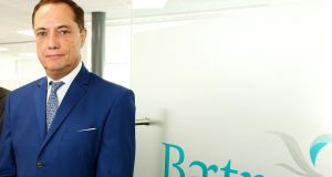 Richard Barrett, founder of Bartra, who is developing the site in Dublin's docklands