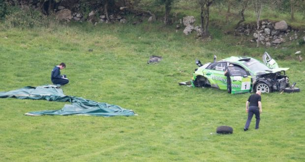 Fatal rally crash 'freak accident', say organisers