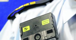 Gardaí will be equipped with body cameras under plans approved by the Cabinet today. File photograph: Colin Keegan/Collins.