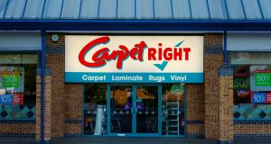 Carpetright said its Irish business had 'an oversized store footprint which we are looking to reduce as opportunities arise'.