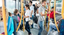 Passengers often complain that public transport can be expensive, overcrowded, slow and lacking reach. Photograph: iStock
