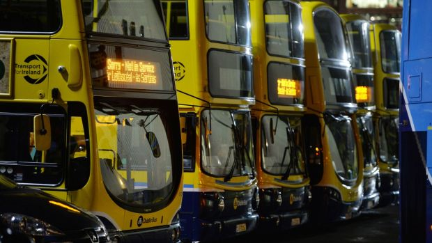 Dublin Bus remains the workhorse of the transport network in Dublin. Photograph: Alan Betson