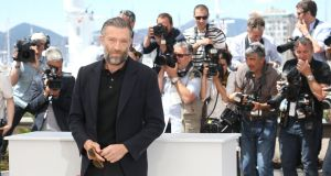 Vincent Cassel  in Cannes, France. Photograph: Luca Teuchmann/Getty Images.