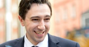 Minister for Health  Simon Harris said he hoped the dispute would be referred to the Labour Court today. Photograph: Cyril Byrne/The Irish Times