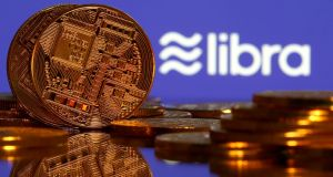 Facebook's cryptocurrency libra is set to launch in the first half of 2020. Photograph: Dado Ruvic/Illustration/Reuters