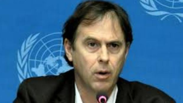 "Rupert Colville, a spokesman for the Office of the UN High Commissioner for Human Rights, said he was ""deeply concerned"" about conditions in Zintan detention centre, Libya, after a visit on June 3rd."