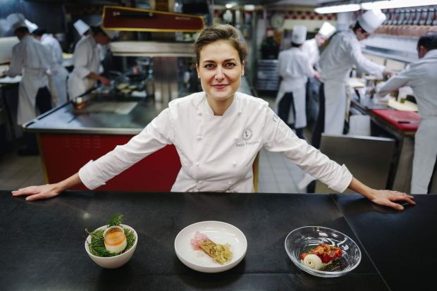Jessica Prealpato, winner of the best pastry chef title