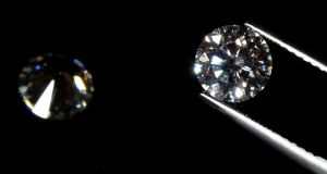 A weaker rupee has made gems more expensive for Indian manufacturers, who cut or polish about 90%  of the world's stones. Photograph:  Reuters