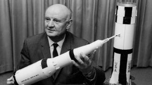 Engineer Arthur Rudolph - a prime force in the development of the V2 rocket for Nazi Germany. Photograph: National Aeronautics and Space Administration