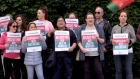 10,000 health support workers take part in 24-hour strike