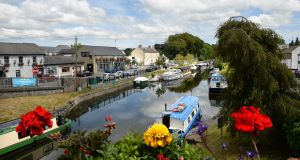 Sallins, Co Kildare: the population has doubled between 2002 and 2016 from just under 3,000 to almost 6,000. Photograph: Dara Mac Dónaill/The Irish Times