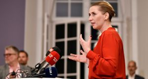 Mette Frederiksen of the Danish Social Democrats: has agreed to reverse some of the strict immigration curbs adopted by the outgoing centre-right government. Photograph: Mads Claus Rasmussen/Ritzau Scanpix