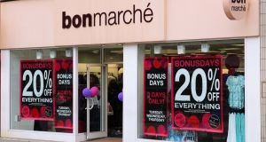 The retailer had warned on sales as early as March as it discounted heavily to clear unsold apparel. Photograph: iStock