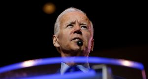 Joe Biden: To his mind, Republicans and Democrats feud more out of muscle memory than principle. Photograph: Randall Hill/Reuters