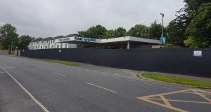 Former Shell garage on Roebuck Road, Clonskeagh:  is the subject of a proposal for 43 apartments.