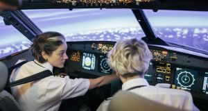 About a quarter of female respondents said they would be suited to the role of a pilot. Photograph: Getty Images