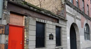 The Brú Aimsir hostel on Thomas Street provided emergency overnight accommodation. It was initially opened in October 2015 as a temporary winter shelter for people sleeping rough. File photograph: Cyril Byrne