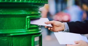 Mail volumes are declining at about 7 per cent per annum due to customers moving from the letters to parcels and e-commerce. Photograph: iStock