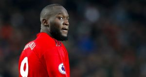 Romelu Lukaku could be set to leave Manchester United for Inter Milan this summer. Photo: Martin Rickett/PA Wire