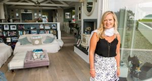 Interior designer Emma Kelly at her home in Kinsale, Co Cork. Photograph: Daragh Mc Sweeney/ Provision