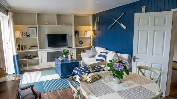 Client's studio apartment by interior designer Emma Kelly in Kinsale, Co Cork. Photograph: Daragh McSweeney/ Provision