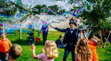 Aimed at all ages – from babies to grannies -  it will transform the beautiful yet compact grounds of the 18th Century stately home.  Photograph: Ruth Medjber
