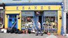 Keane's, one of the colourful fronts in Gort, Co. Galway. Photograph: Joe O'Shaughnessy