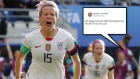 Rapinoe feels Trump's ire over White House comments