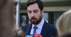 "Minister for Housing Eoghan Murphy: he says  the ""affordability gap"" for housing will not be  bridged by the levelling off of prices  alone. Photograph: Nick Bradshaw"