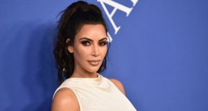 Kim Kardashian has  spoke of the body foundation aiding her in tackling her decades-old secret: that she 'has veins', like 100 per cent of the world's female population. File photograph:  Evan Agostini/Invision/AP