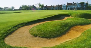 The 18th hole at Muirfield Golf Club. Photo: Peter Dazeley/Getty Images
