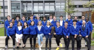 Participants in Trinity College Dublin's LaunchBox accelerator programme, now in its seventh year.