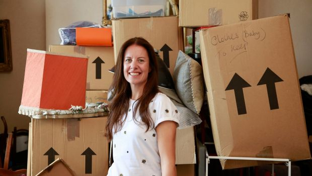Arabella Page offers a home moving service. Photograph: Nick Bradshaw
