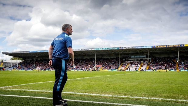 Liam Sheedy: All the signs are that Tipperary's mindset has returned to being angry and hungry for success. Central to this is the manager's driving of standards. Photograph: James Crombie/Inpho
