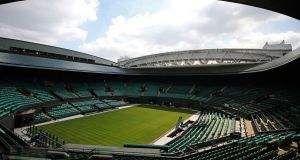 Wimbledon's prize money  has more than doubled since 2012, with £38 million (€42.35 million) on offer this year. Photograph:  Adam Davy/PA Wire