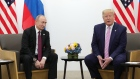 Trump to Putin: 'Don't meddle in the election please'