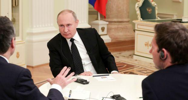 Vladimir Putin: 'He who doesn't take risks, never drinks champagne'