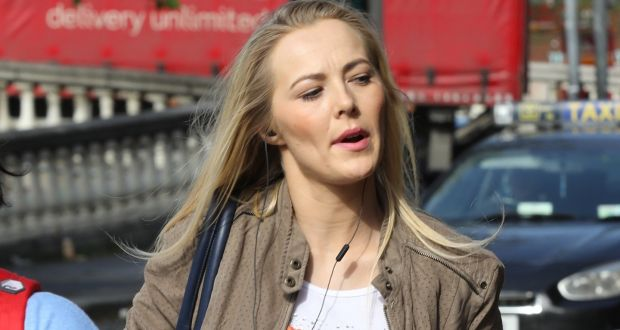 Judyta Rozmyslowicz (32)               sued the Garda Commissioner and the Minister for Justice               for damages. Photograph: Collins Courts.