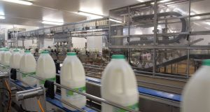 A Dale Farm production line. The latest accounts show the co-op  grew its group operating profit by 18%  to £14.3m