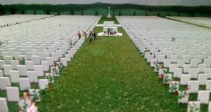 In Boyle, Co Roscommon, on Friday, a memorial diorama to mark the centenary of the signing of the Treaty of Versailles was unveiled at King House, Boyle.