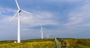 Energia has an existing supply of 1,200 MW including power from 22 owned and invested wind farms across Ireland. It also operates two major gas-fired power stations in Dublin. Photograph: iStock