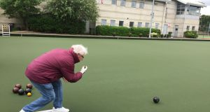 Robin Bailey: 'Bowls combine accuracy, strategy, expertise and a lot of fun while meeting new people.'