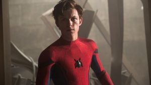 Tom Holland in Spider-Man: Far From Home. Photograph: Sony Pictures