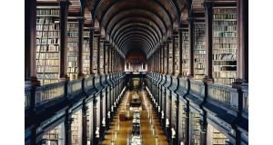 Trinity College's library. The university's Al Maktoum Centre for Middle Eastern Studies was announced on Monday.