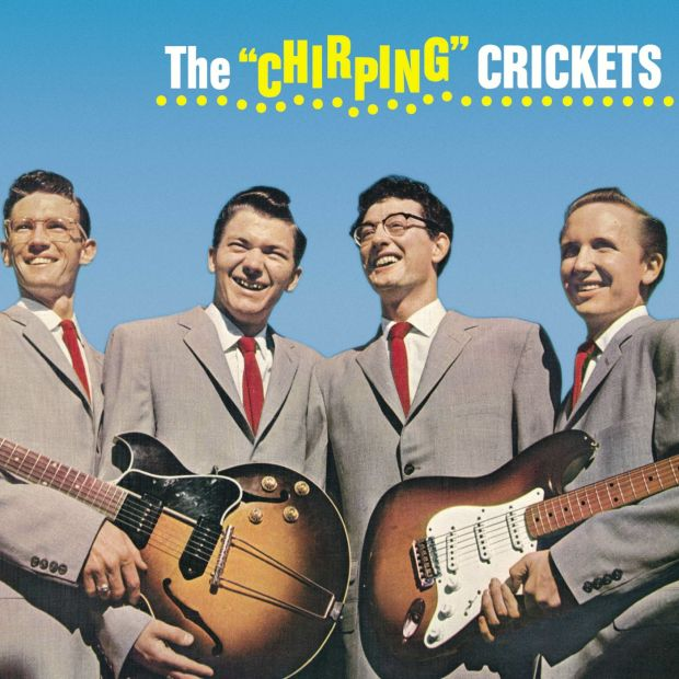 "Buddy Holly's The ""Chirping"" Crickets album"