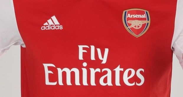 check out 64d60 547f8 Adidas under fire for racist tweets during Arsenal kit launch