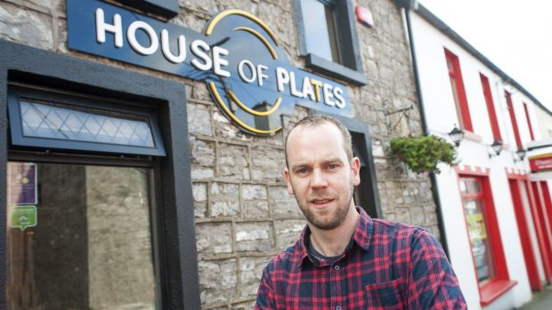 Barry Ralph opened House of Plates in Castlebar three years ago, which as the name suggests, focuses on small and sharing plates.
